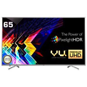 Vu 65XT800 165.1 cm (65) Curved 3D Smart 4K (Ultra HD) LED Television