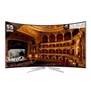 VU TL55C1CUS 139.7 cm ( 55 ) Smart Ultra HD (4K) Curved LED Television