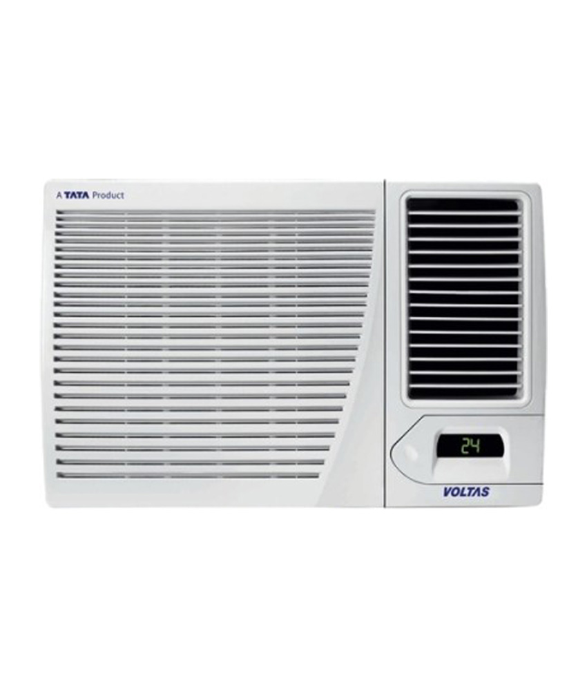 Voltas 1 5 ton 3 star window air conditioner 183 cya ssscart for Window 0 5 ton ac