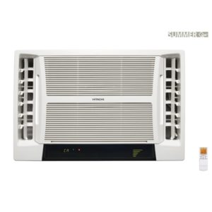Hitachi 1.1 Ton 5 Star Summer QC Window Air Conditioner RAV513HUD