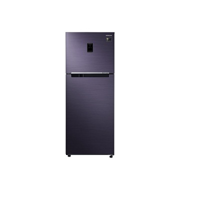 Samsung 394 L RT39M5538UT 3 Star Top Mount Freezer with Solar Connect Double Door Refrigerator available at SSSCART for Rs.47400